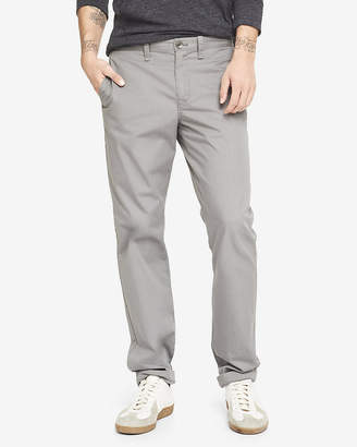 Express Classic Fit Gray Chino Pant