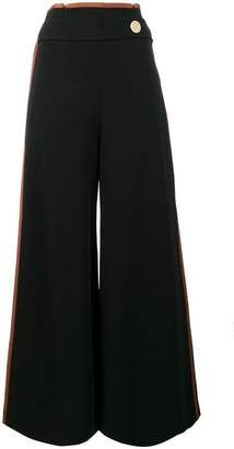 Peter Pilotto Side Stripe High Waisted Culottes