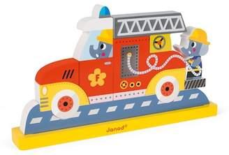 Janod Firemen Magnetic Vertical Puzzle
