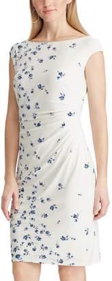 Chaps Women's Floral Sheath Dress