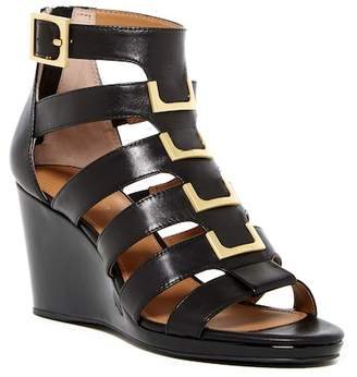 Calvin Klein Brilla Cow Silk Wedge Sandal