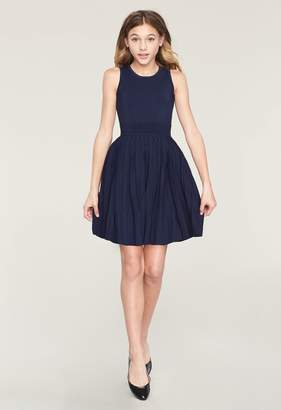 Milly Minis MillyMilly Pleated Flare Dress