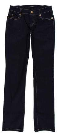 Versace Low-Rise Straight-Leg Jeans
