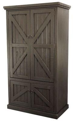 Union Rustic Kellogg Rustic Double Door Armoire Union Rustic