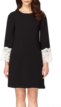 Women's Tahari Lace Embellished A-Line Dress $134 thestylecure.com
