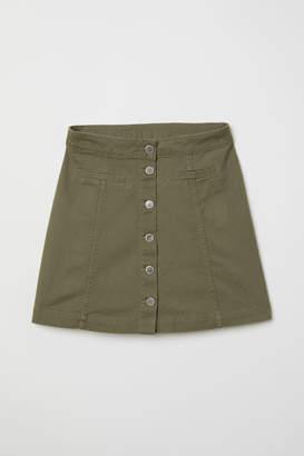 H&M A-line Skirt - Green