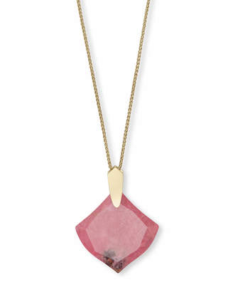 Kendra Scott Aislinn Long Pendant Necklace