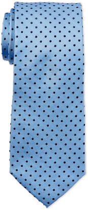 Tommy Hilfiger Slate Blue Pin Dot Tie