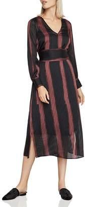 BCBGMAXAZRIA Ombré-Stripe Dress