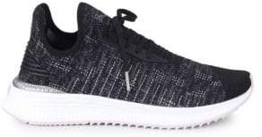 Puma Women's Avid Evoknit Mosaic Low-Top Sneakers