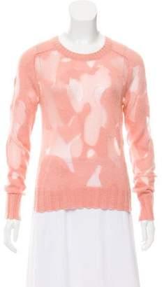 A.L.C. Semi-Sheer Knit Sweater