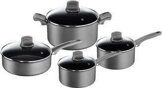 T-Fal Eight-Piece Character Grey Cookware Set - Induction Ready