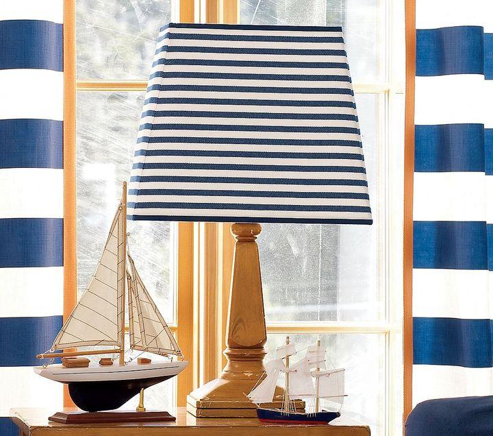 Sailor Stripe Table Shade  Aiden Base