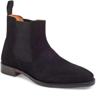 Carlos by Carlos Santana Calavera Chelsea Boot Suede Men Shoes