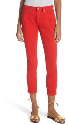 Veronica Beard Brook Crop Skinny Jeans