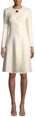 Carolina Herrera Women's Wool-Blend A-Line Coat
