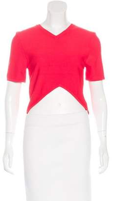 Opening Ceremony V-Neck Crop Top w/ Tags