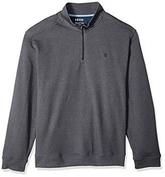 Izod Men's Big and Tall Advantage Performance Fleece Long Sleeve 1/4 Zip Soft Pullover