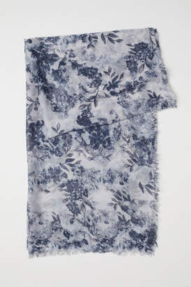 H&M Airy Scarf - Blue