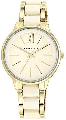Anne KleinAnne Klein Alloy and Plastic Bracelet Watch