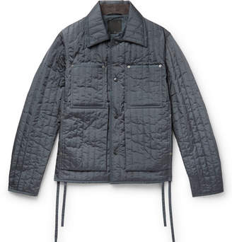 Craig Green Quilted Shell Jacket - Gray