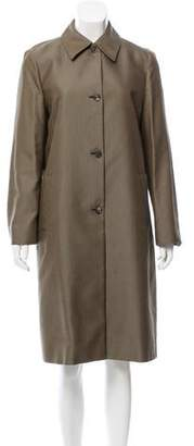 Michael Kors Herringbone Long Coat