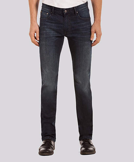 Dark Wash Parker Jeans - Men