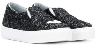 Chiara Ferragni Kids Flirting slip-on sneakers