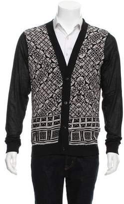 Just Cavalli Printed Long Sleeve Cardigan