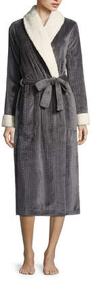 Liz Claiborne Plush Long Robe