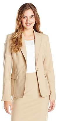 Jones New York Women's Peak-Lapel Suit Jacket $34.28 thestylecure.com