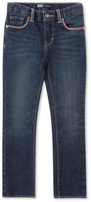 Levi's 711 Thick Stitch Skinny Jean, Little Girls