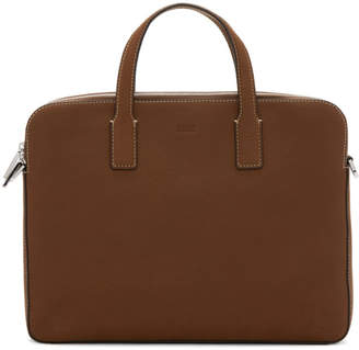 BOSS Brown Crosstown Briefcase