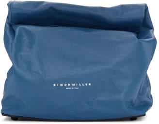 Simon Miller Blue Lunch Bag 20 Clutch