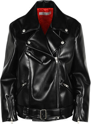 Philosophy di Lorenzo Serafini Philosophy Faux Leather Biker Jacket