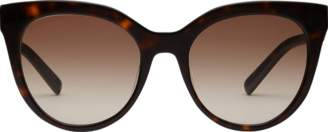 MCM Cat Eye Logo Plaque Sunglasses