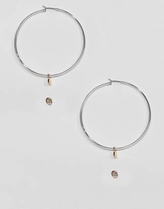 Cheap Monday mini skull hoop and stud pack