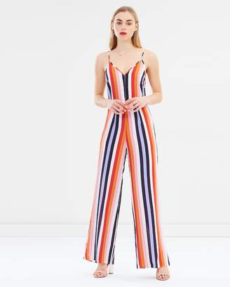 Miss Selfridge Striped Cami Wide Leg Jumpsuit