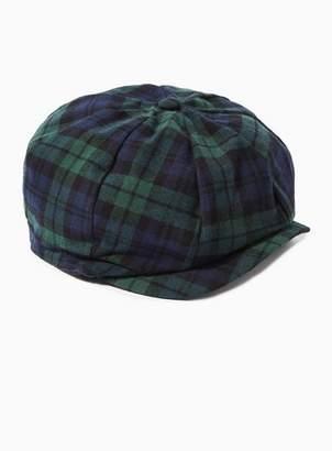Topman Mens Multi Black Watch Baker Boy Hat