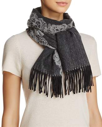 C by Bloomingdale's Lace Cashmere Scarf - 100% Exclusive