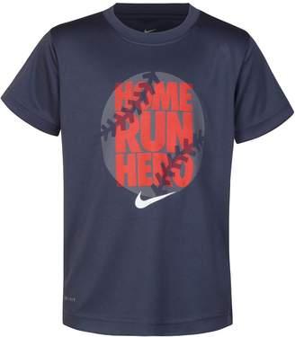 "Nike Boys 4-7 Home Run Hero"" Dri-FIT Graphic Tee"