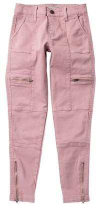 Tractr Cargo Pocket Crop Pants (Big Girls)