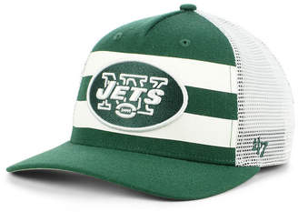 '47 New York Jets Team Stripe Mvp Cap