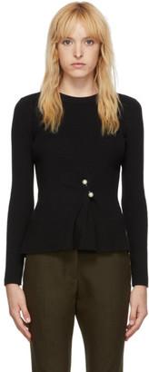 3.1 Phillip Lim Black Pearl Pin Sweater
