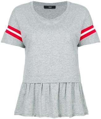 Steffen Schraut stripe detail T-shirt