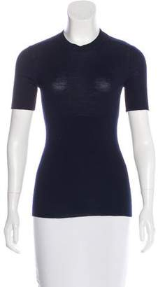 Givenchy Short Sleeve Crew Neck Top