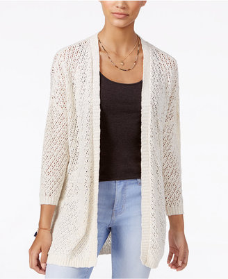 American Rag Cotton Open-Front Cardigan, Only at Macy's $49.50 thestylecure.com
