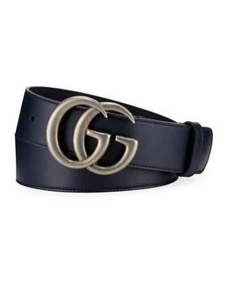 f5f12f68b328ef Gucci Men's Running GG Leather Belt