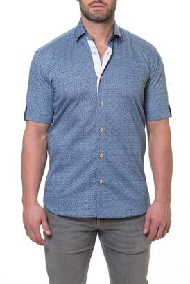Maceoo Fresh Aztec Print Sport Shirt