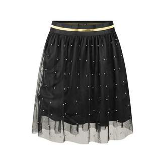 GUESS GuessGirls Black Studded Tulle Skirt